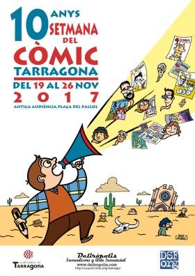 Resultado de imagen de 10 setmana del comic a tarragona