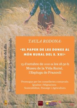 Dia de les dones rurals l'Espluga